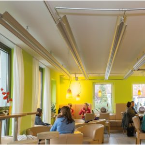 Restaurant met Preko stralingspanelen